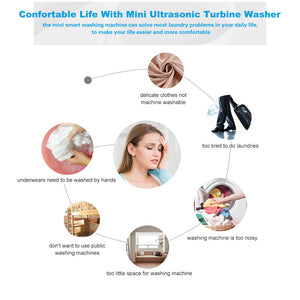 Portable Ultrasound Washing Machine