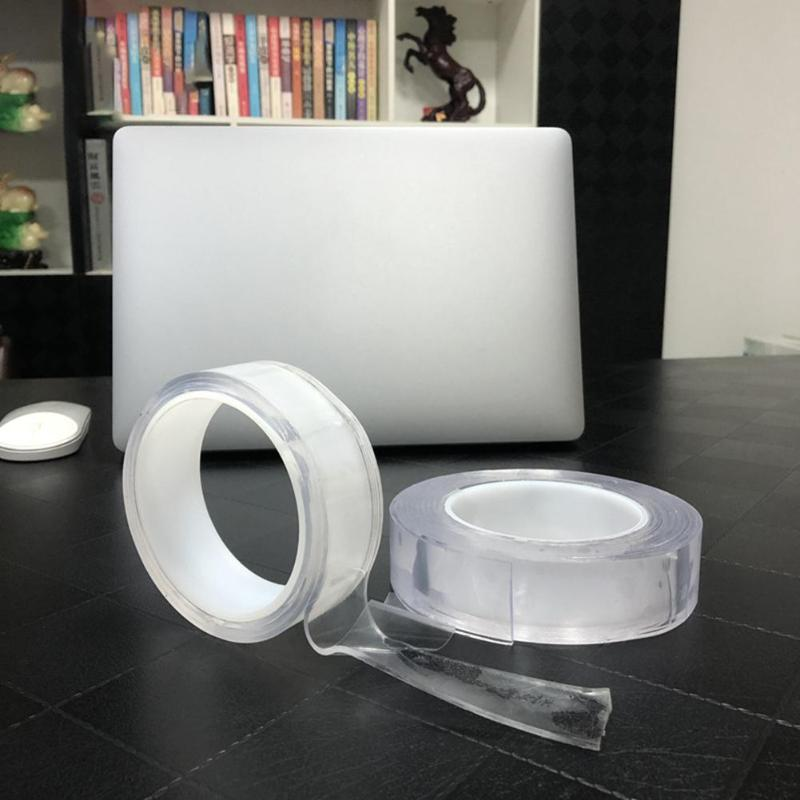 2 pcs Magic Nano Traceless Tape, Double-Sided tape