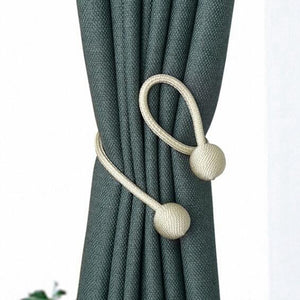 Magnetic Pearl Ball Curtain Tieback