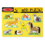 Pets Sound Puzzle Melissa and Doug