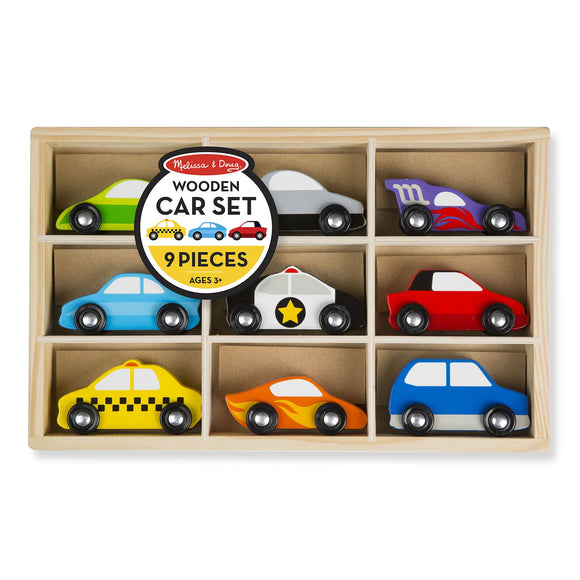 Wooden Car Set Melissa and Doug