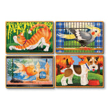 Pets Puzzles in a Box Melissa and Doug