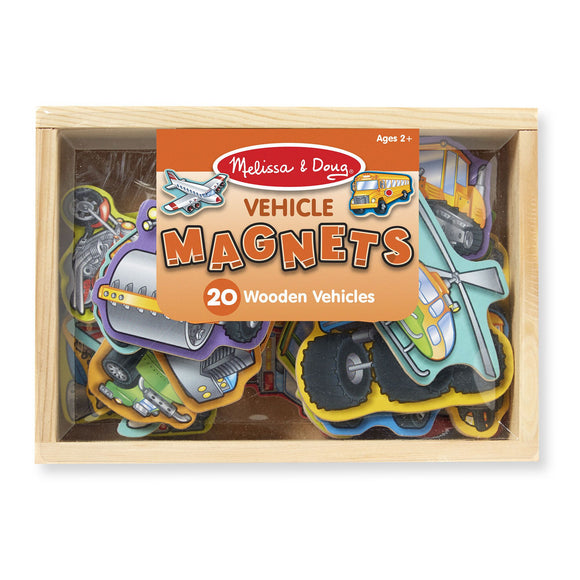 Wooden Vehicle Magnets Melissa and Doug