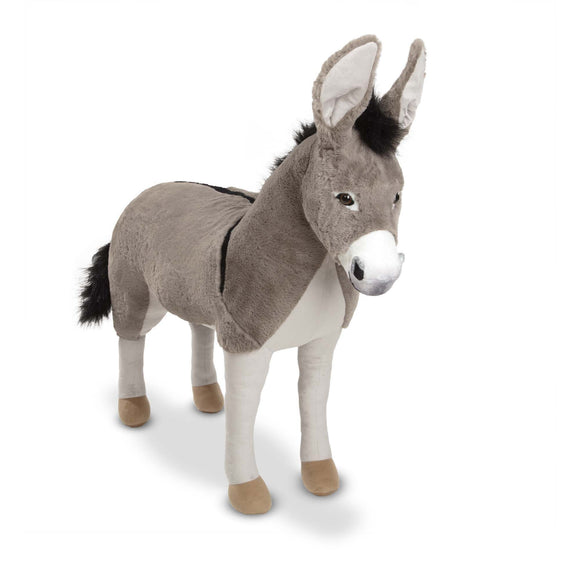 Lifelike Plush - Donkey Melissa and Doug