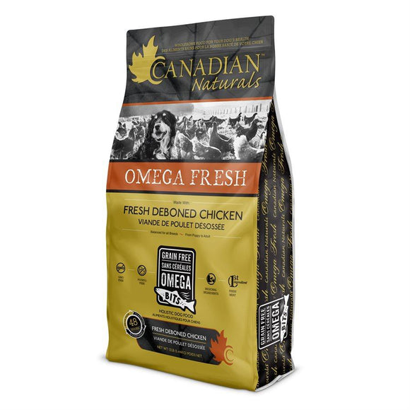 Canadian Naturals Omega Fresh Dog Deboned Chicken 4.4LB Dog Food Canadian Naturals