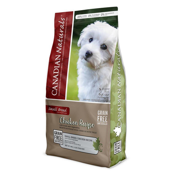 Canadian Naturals Value Series Dog Grain Free Small Breed Chicken 5LB Dog Food Canadian Naturals