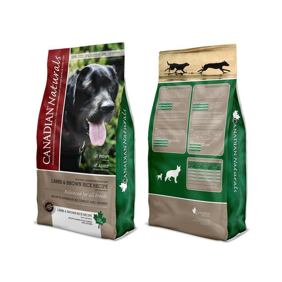 Canadian Naturals Value Series Dog Limited Ingredient Diet Lamb 25LB Dog Food Canadian Naturals