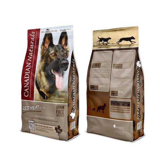Canadian Naturals Value Series Dog Grain Free Red Meat 5LB Dog Food Canadian Naturals