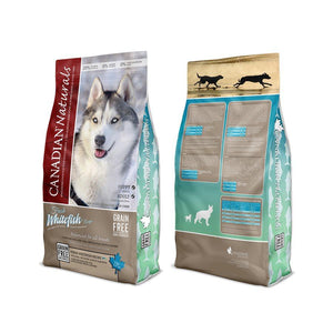 Canadian Naturals Value Series Dog Grain Free Fresh Whitefish 25LB Dog Food Canadian Naturals