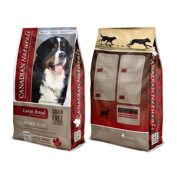 Canadian Naturals Value Series Large Breed Dog Grain Free Red Meat 28LB Dog Food Canadian Naturals