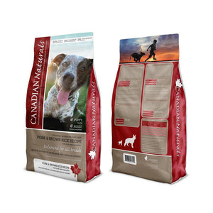 Canadian Naturals Value Series Adult Dog Pork & Brown Rice 30LB Dog Food Canadian Naturals