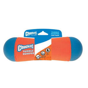 CHUCK IT! Tug, Shake or Toss Tumble Bumper Large Dog Supplies Chuck IT!