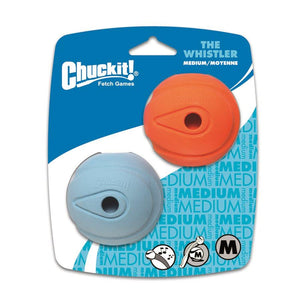 CHUCK IT! Launcher Compatible Whistler Medium 2-Pack Dog Supplies Chuck IT!