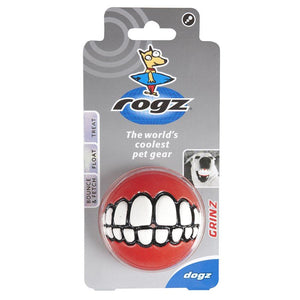 "ROGZ Grinz Small 2"" Dog Treat Ball Dog Supplies ROGZ"