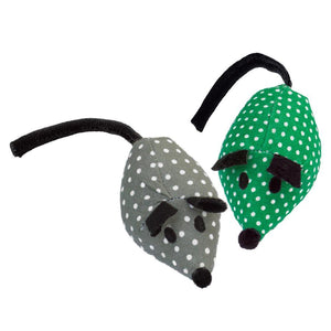 KONG Cat Softies Catnip Mice 2-Pack Cat Supplies KONG