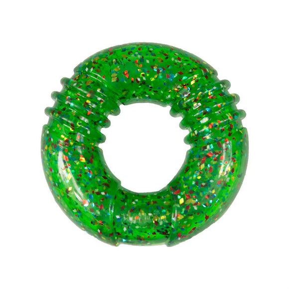 KONG Squeezz Confetti Ring Large Dog Supplies KONG