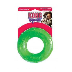 KONG Large Squeezz Ring Dog Supplies KONG