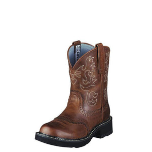 Fatbaby Saddle Western Boot Boots Ariat Brown 6 B