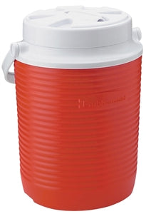 Rubbermaid FG156006MODRD Thermal Water Cooler Jug, 10.98 in L x 8.31 in W x 8.41 in H, Swing-Top Bail Handle