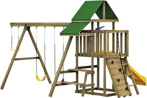 PLAYSTAR PS 7481 Ready-to-Assemble Playset Kit Playground Equipment Playstar