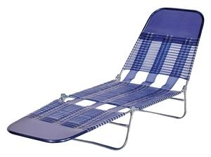 Seasonal Trends S65002-B Folding Lounge, Royal Blue Outdoor Furniture Seasonal trends