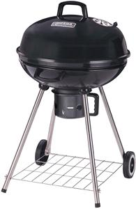 Omaha DFKP22443L Kettle Charcoal Grill, 22-1/2 in W Cooking Surface, 22-1/2 in D Cooking Surface, Steel Grills, Smokers & Fireplaces Omaha