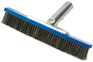JED POOL TOOLS 70-274 Pool Wall Brush, 10 in Brush, Stainless Steel Trim Pool Cleaning & Maintenance Jed pool tools