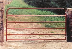 Behlen Country 40130081 Utility Gate, 50 in H, 96 in W, Red Fencing Behlen/farmaster