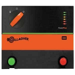 Gallagher B80 G362504 Fence Charger, Lead Acid Battery, 12 V Battery Fencing Gallagher power fence