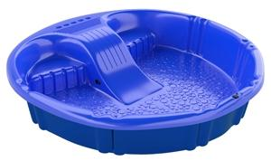 Gracious Living 1003-AZZBLU-12 Slide Pool, Polyethylene, Blue Swimming Pools Gracious living corpora