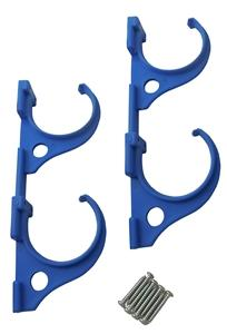 JED POOL TOOLS 80-225 Double-Hook Pole and Hose Hanger, Plastic Pool Cleaning & Maintenance Jed pool tools