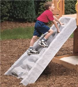 PLAYSTAR PS 8850 Climbing Wall, HDPE, Gray Playground Equipment Playstar