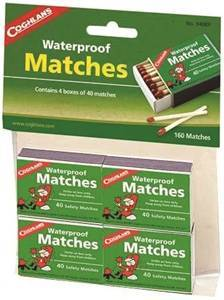 Coghlans 940BP Waterproof Match, 40 Box Camping & Outdoor Coghlan's canada