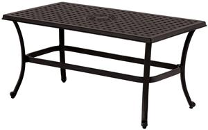 Seasonal Trends T3R41LS2G31 Coffee Table, Rectangular Table Outdoor Furniture Seasonal trends
