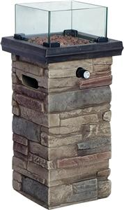 Seasonal Trends 50168 Column Fire Patio, 22 in OAH Grills, Smokers & Fireplaces Seasonal trends