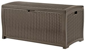 Suncast DBW9200 Deck Box, 99 gal Weight Capacity, Resin Outdoor Storage Suncast