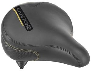 KENT 65022 Cruiser Saddle, Comfortable Memory Foam, Steel Rail Bike Parts & Accessories Kent international