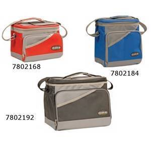 World Famous 1607 Soft Bag Cooler, 30 Cans Capacity, Polyester, Black/Gray Ice Chests & Coolers World famous sales of