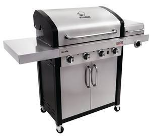 Char-Broil Gas Grill, 45000 Btu, Gas Fuel, 20 lb, 4 Burners, 525 sq-in Primary Cooking Area, 48 in H x 57 in W Grills, Smokers & Fireplaces Char-broil llc