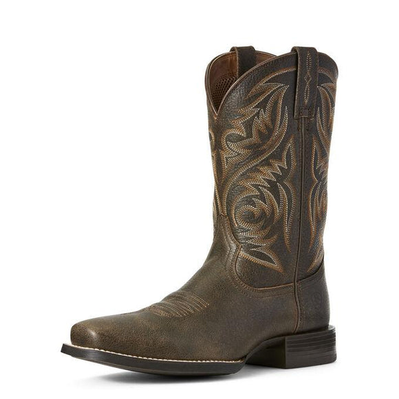 Sport Herdsman Western Boot Boots Ariat Brown 9 EE