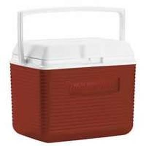 Rubbermaid FG2A0904MODRD Personal Ice Chest/Cooler, 5 qt, 7.4 in L x 10-1/2 in W x 7-3/4 in H, Top Swing Handle Ice Chests & Coolers Rubbermaid canada
