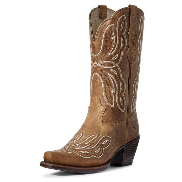 Mirabelle Western Boot Boots Ariat 6 Honey Tan B