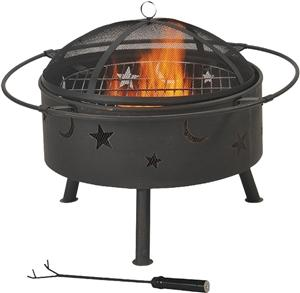Seasonal Trends Round Outdoor Firepit Grills, Smokers & Fireplaces Seasonal trends