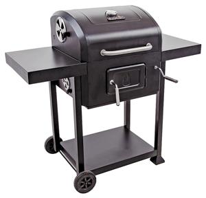 Char-Broil 16302038 Charcoal Grill, 25 Burgers, 580 sq-in, Black Porcelain Coated, Manual Ignition, Cast Iron/Steel Grills, Smokers & Fireplaces Char-broil llc