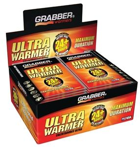 Grabber UWES Heat Treat Ultra Warmer, 4 x 5-1/2 in, 124 - 149 deg F, 24+ hr of Warmth Camping & Outdoor Grabber