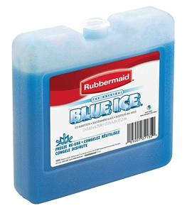 Rubbermaid FG1034TL220 Blue Gel Ice Pack, For Use With Larger Chests, 7.937 in x 7-5/8 in x 17.312 in, Plastic Ice Chests & Coolers Rubbermaid canada