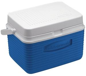 Rubbermaid FG2A0904MODBL Personal Ice Chest/Cooler, 5 qt, 7.4 in L x 10-1/2 in W x 7-3/4 in H, Top Swing Handle Ice Chests & Coolers Rubbermaid canada