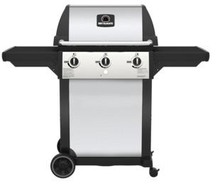 Broil-Mate 116454S LP Gas Grill, Liquid Propane, 19 in W Cooking Surface, 56 in D Cooking Surface, Stainless Steel Grills, Smokers & Fireplaces Onward mfg