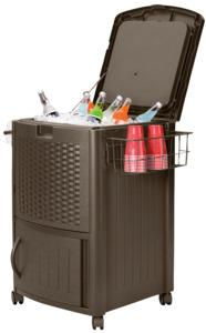 Suncast DCCW3000 Water Cooler, Resin Outdoor Storage Suncast