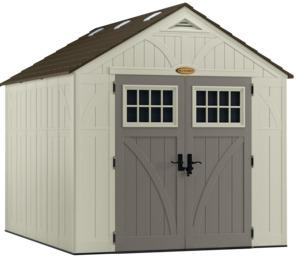 SHED STORAGE VANILLA 8FTX10FT Outdoor Storage Suncast